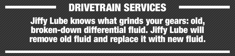Jiffy Lube Knoxville Drive Train Service Details